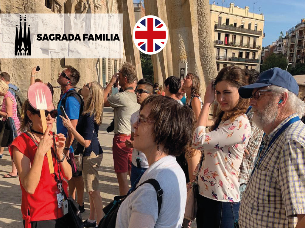 SAGRADA FAMILIA ENGLIS GUIDED VISIT