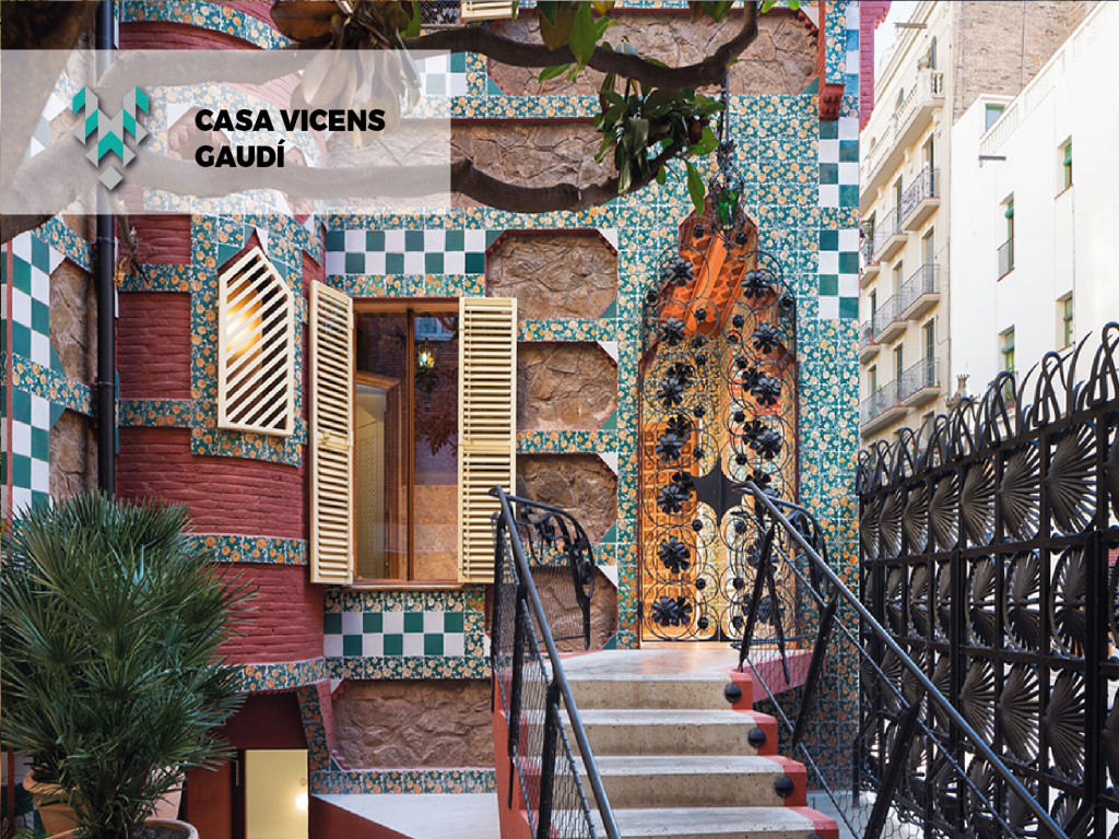 Visita Casa Vicens Oferta Gaudí -25%