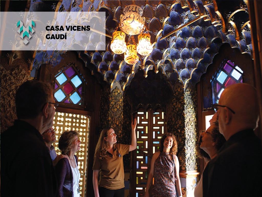 Visita Guiada Casa Vicens Oferta Gaudi -20%