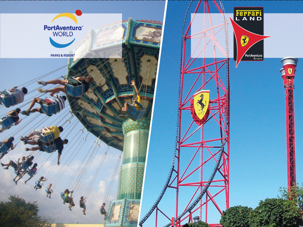 Ticket 1 day for Port Aventura and Ferrari Land