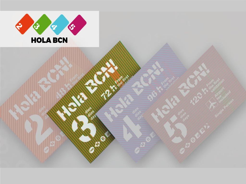 Tarjeta Hola Barcelona72H 22.20€