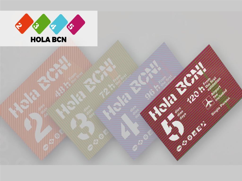 Tarjeta Hola Barcelona 120H 35.40€