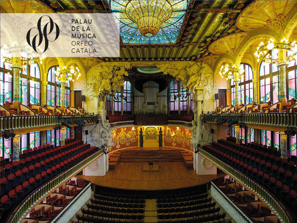 Guided Visit to the Palau de la Música Catalana (SP)