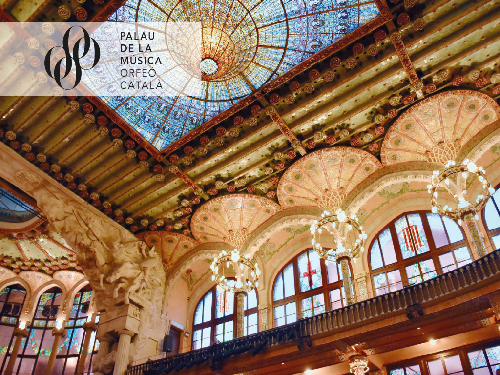 Guided Visit to the Palau de la Música Catalana (FR)