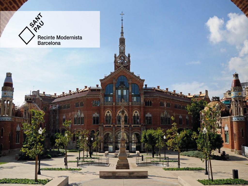 Visita el Recinto Modernista de Sant Pau 14€