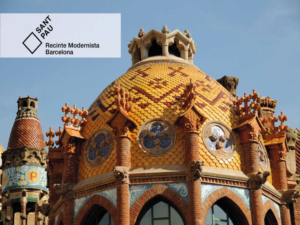 Guided Visit to Recinte Modernista (Spanish) 19€