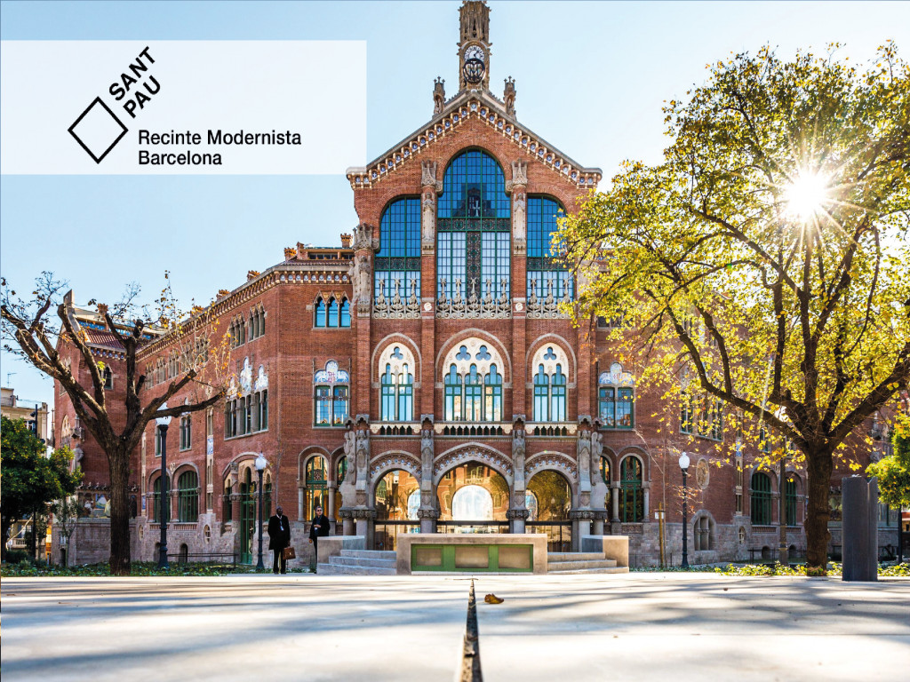 Guided Visit to Recinte Modernista (English) 19€