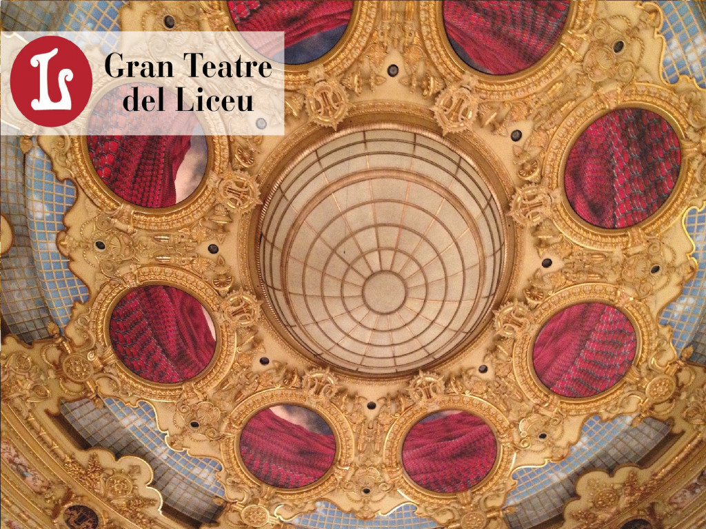Guided visit to the Liceu Opera 9€