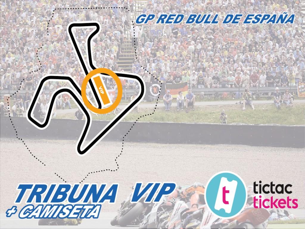 Tribuna VIP 165€(Oferta hasta el 3 de Abril 153€)
