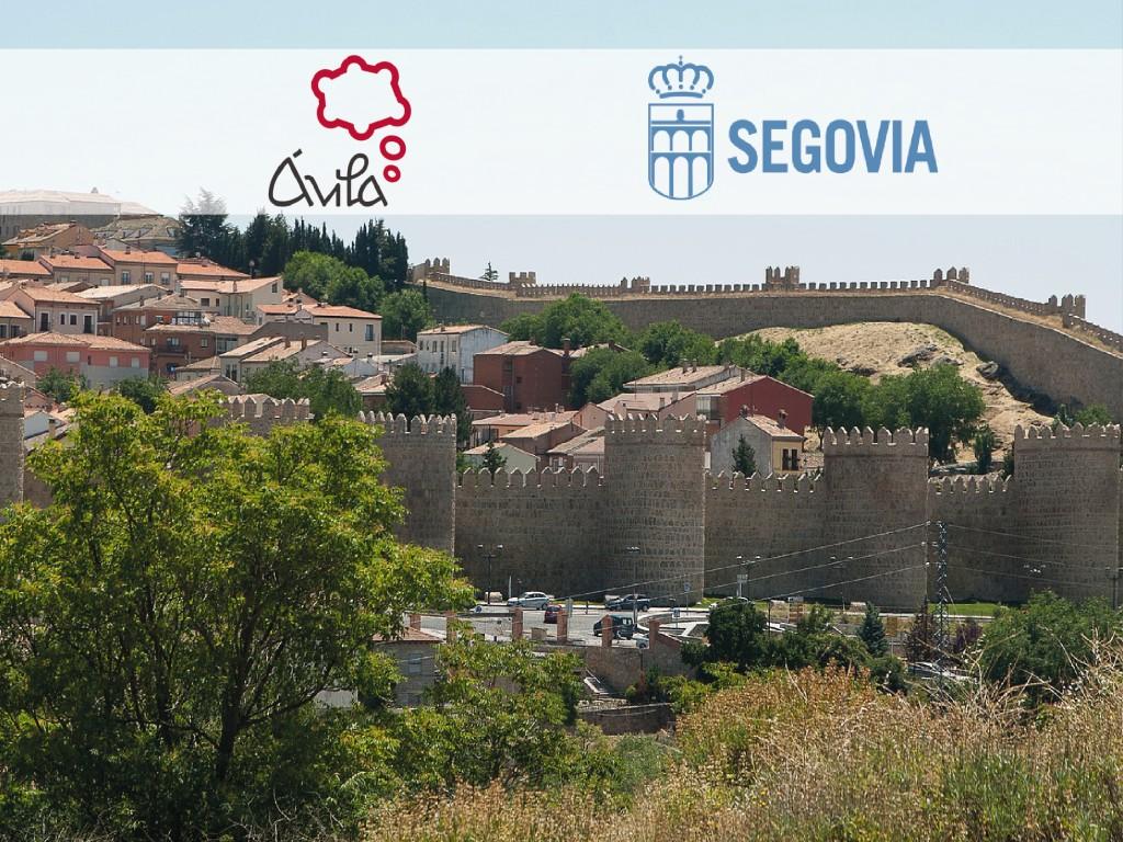 Tour en inglés Ávila y Segovia con menú turístico