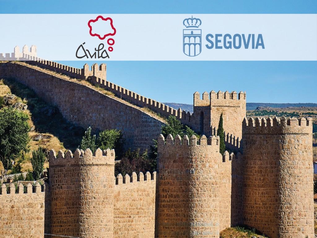 Tour en inglésÁvila y Segovia con menú gastronómico