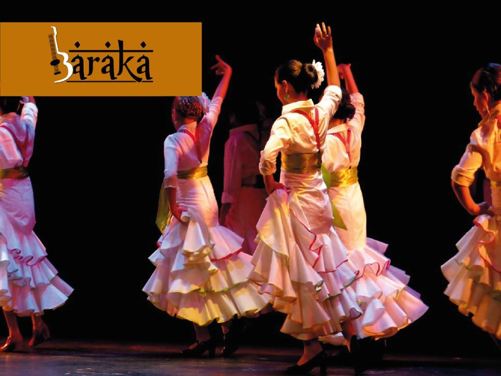 <p>Baraka Flamenco<br /> Espectáculo + Copa</p>
