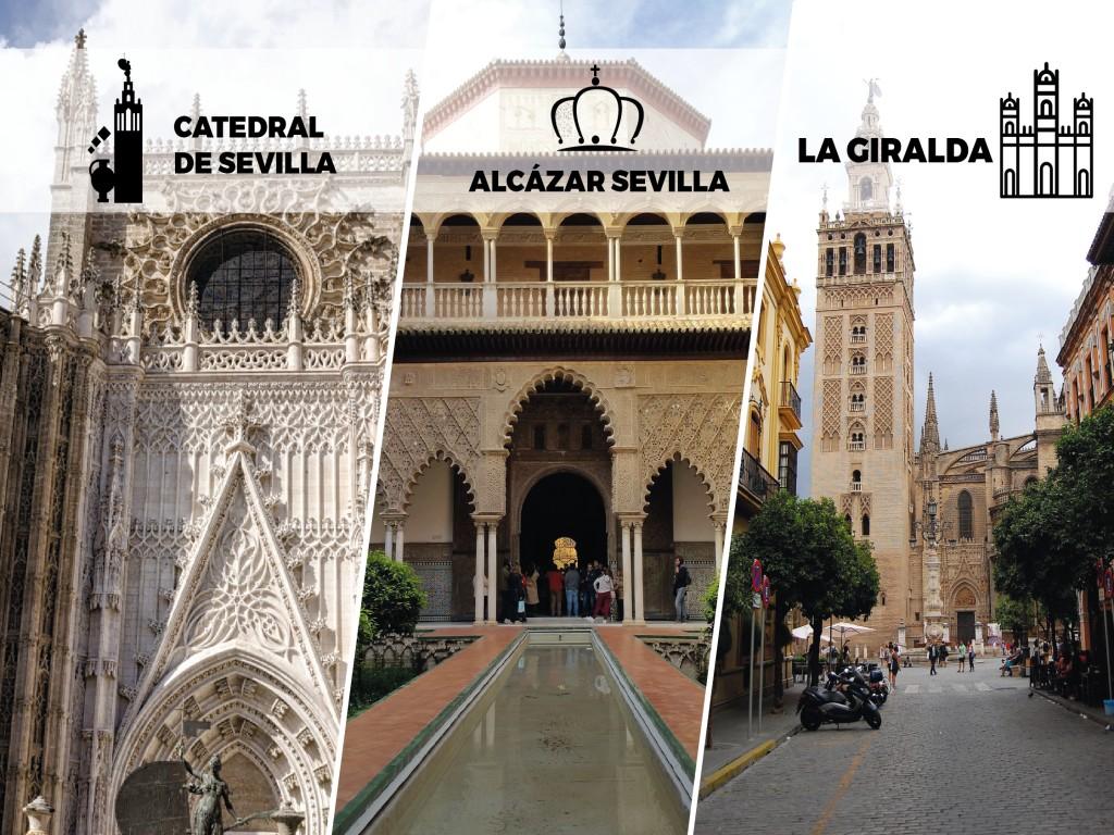 Sevilla Monumental: Alcázar + Catedral y Giralda (Tour en Inglés)