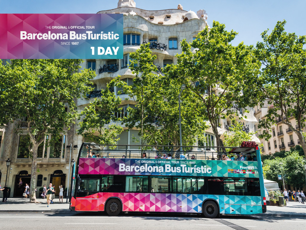 Barcelona Bus Turístic 1 día