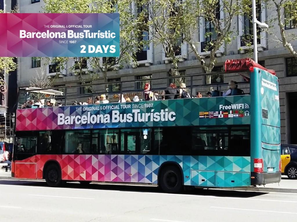 Barcelona Bus Turístic 2 días