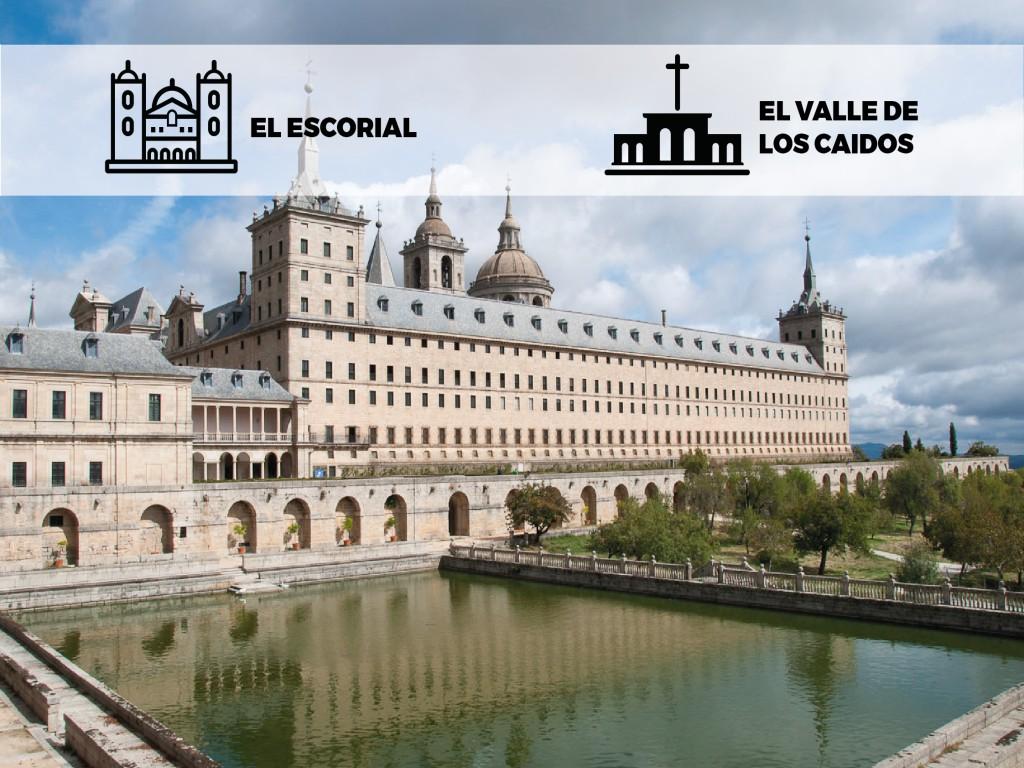 <p>El Escorial y Valle de los Caídos</p>