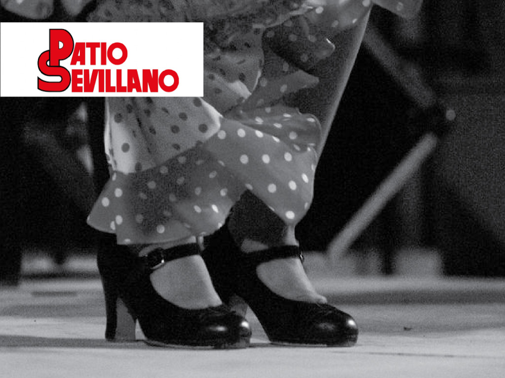 Patio Sevillano: Flamenco + Menú Tarantos