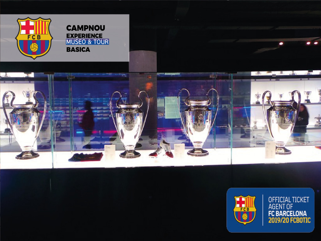 Basic Tour Camp Nou Experience