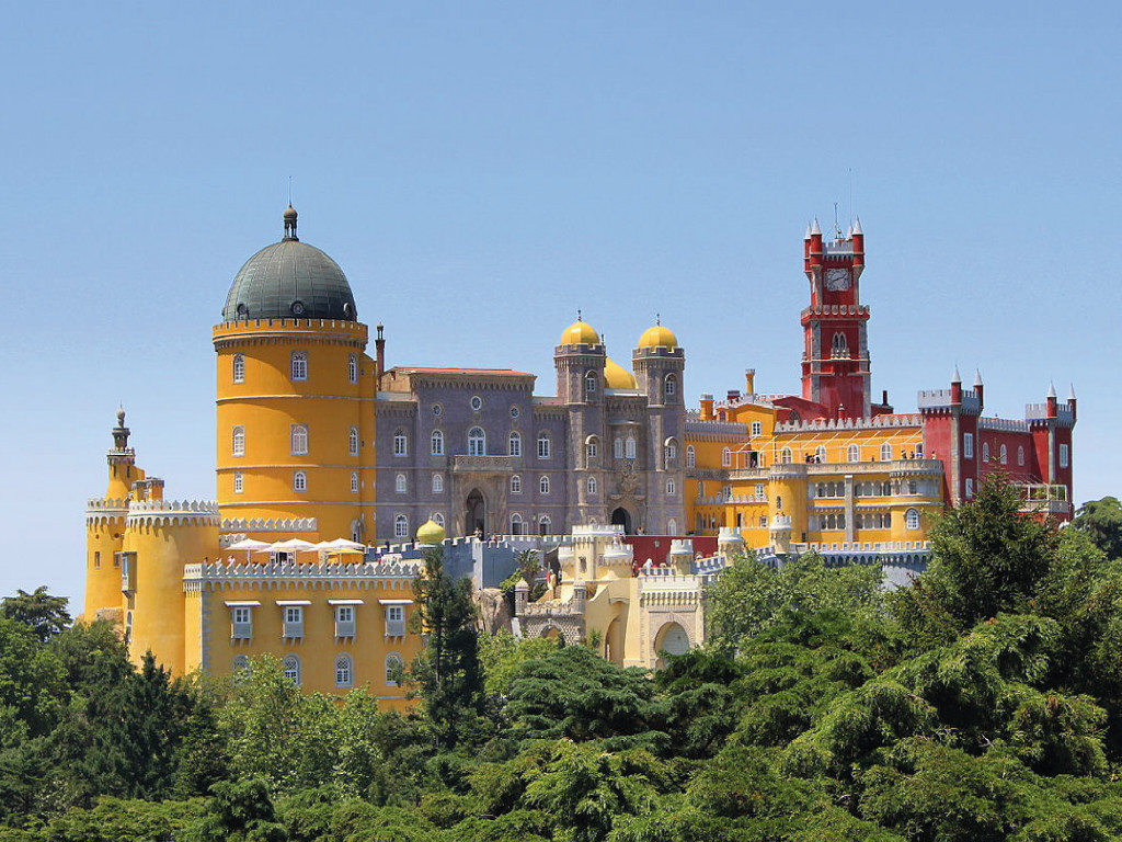 Sintra & Da Pena Palace Half Day English