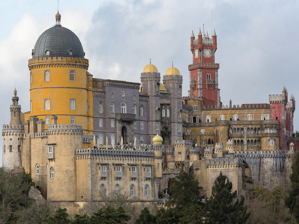 Sintra & Da Pena Palace Half Day Spanish