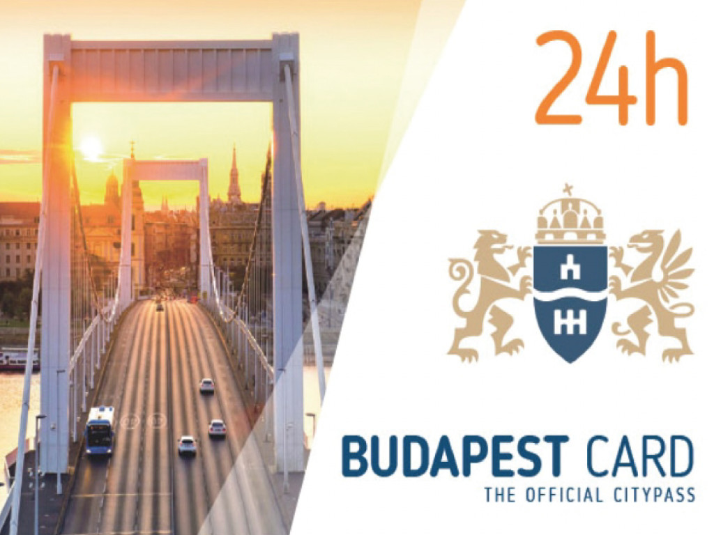 Budapest Card  1 Day (24h)