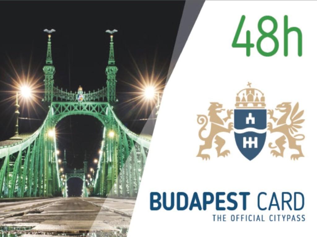 Budapest Card 2 días (48h)