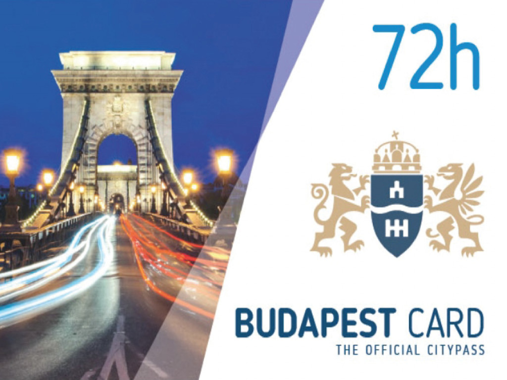 Budapest Card 3 días (72h)