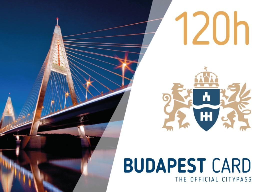 Budapest Card 5 días (120h)