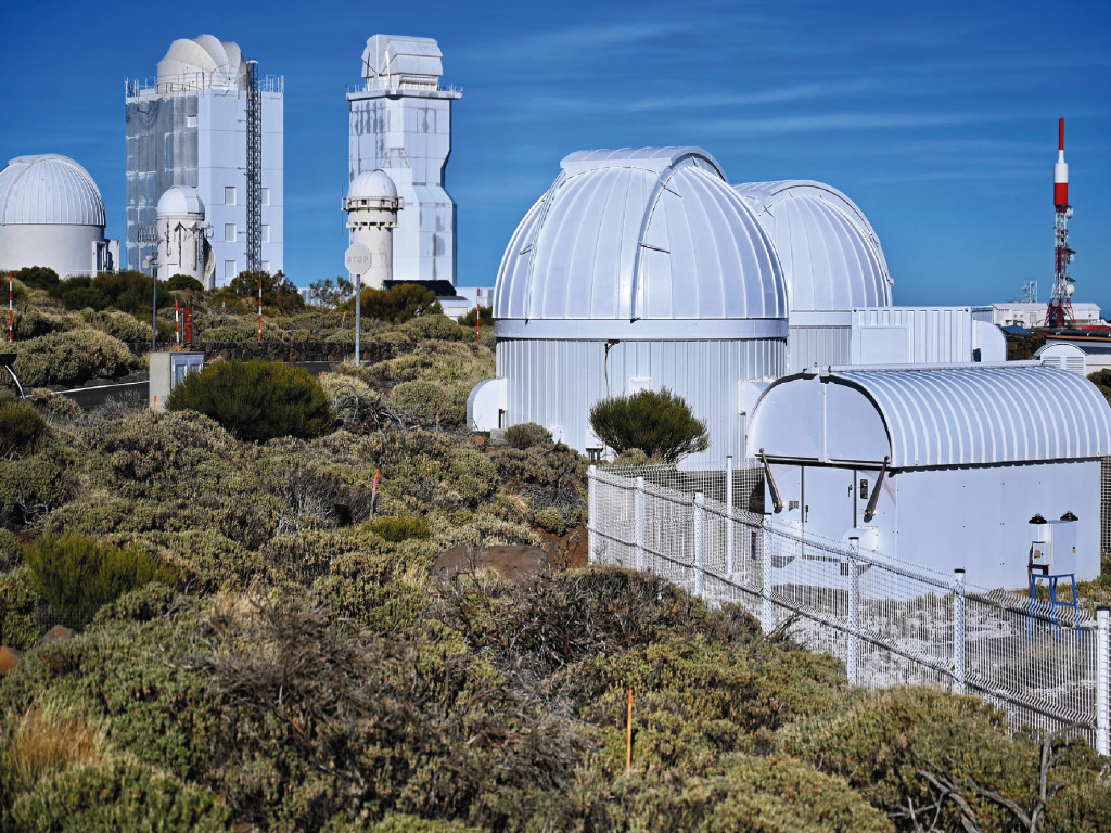 Visita guiada diurna al Observatorio Teide - ESP