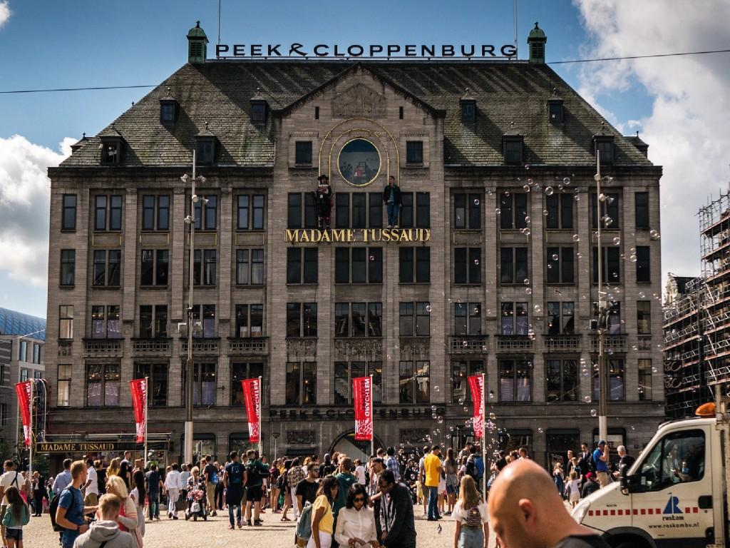 Combinada: Tussauds + Amsterdam Dungeon