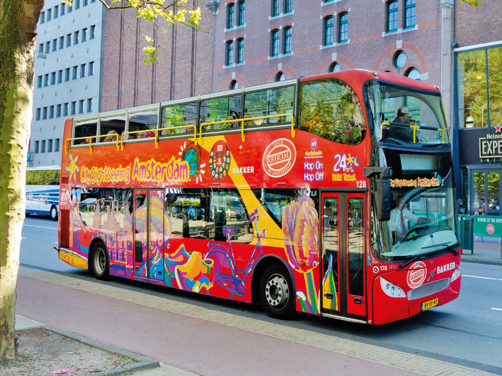 24H City Sightseeing Ámsterdam