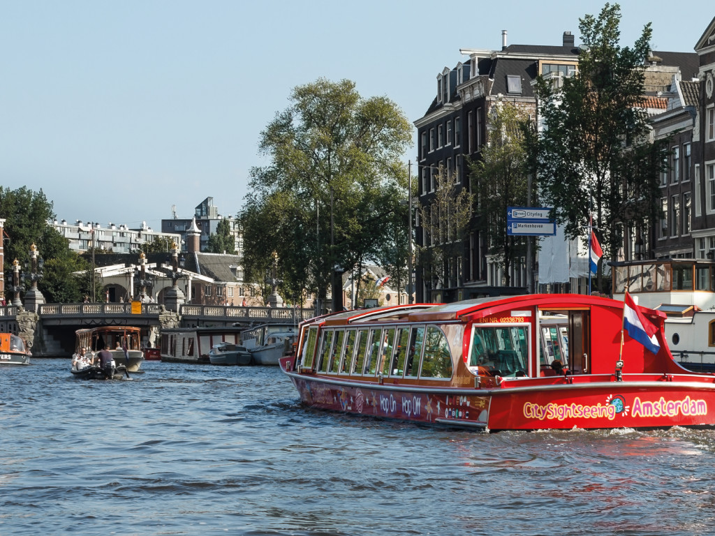 24H City Sightseeing Ámsterdam Bus & Boat