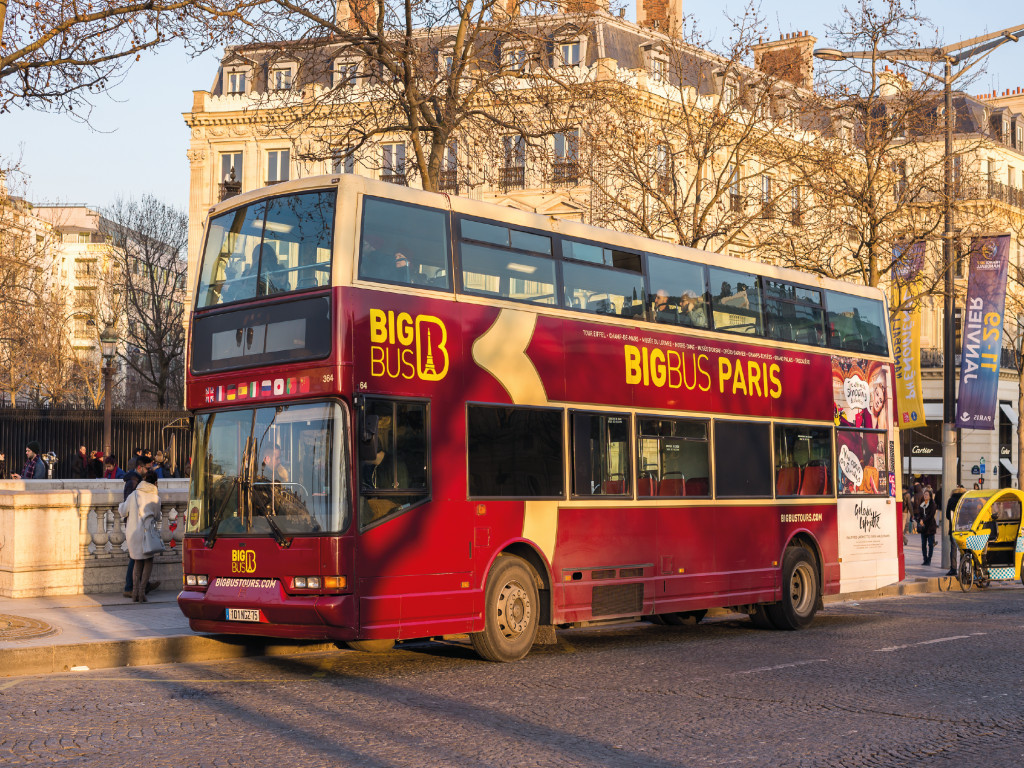 Bus Paris CitySightseeing - Big Bus 1D 36€