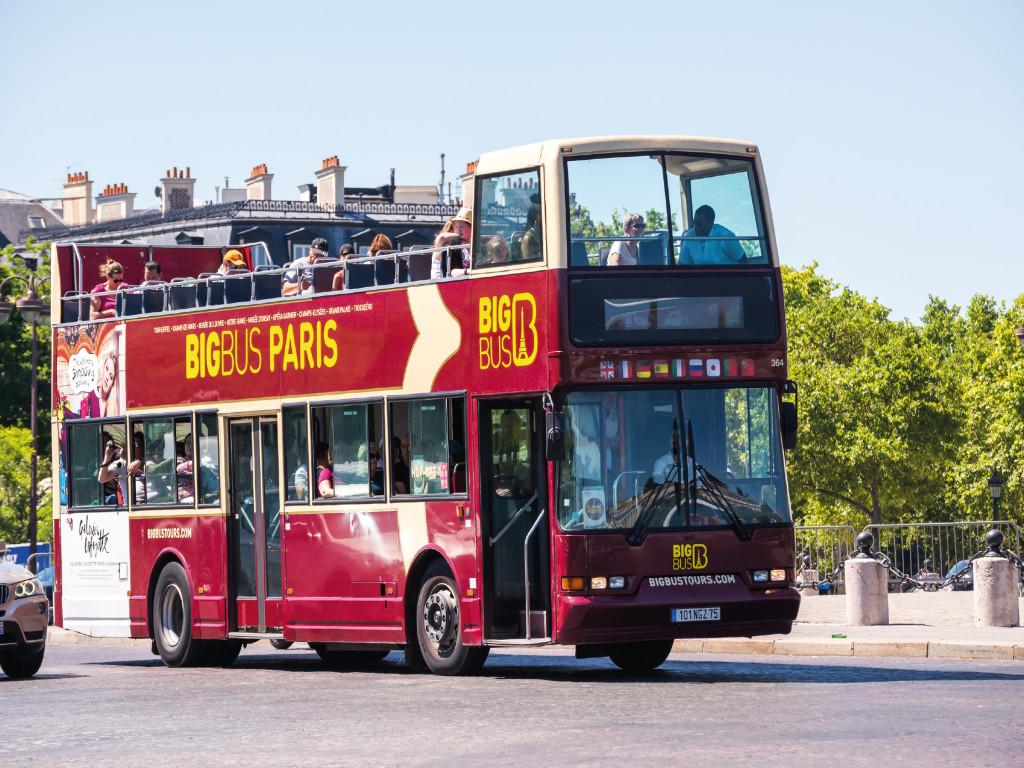 Bus Paris CitySightseeing - Big Bus 2D 41€