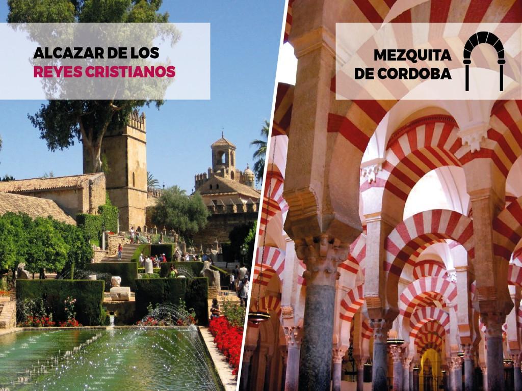 Córdoba Monumental: Alcázar + Mezquita (Tour Guiado)