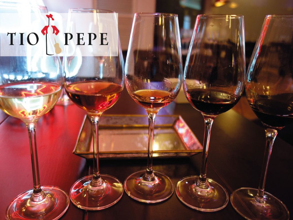 Visit Tío Pepe (2 wines) per person