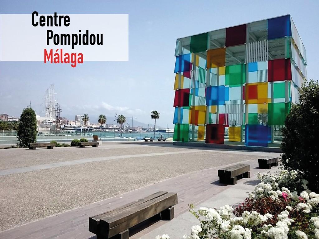 Entrada Centro Pompidou Málaga