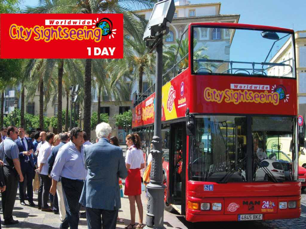 Billete Bus City Sightseeing 24H Jerez