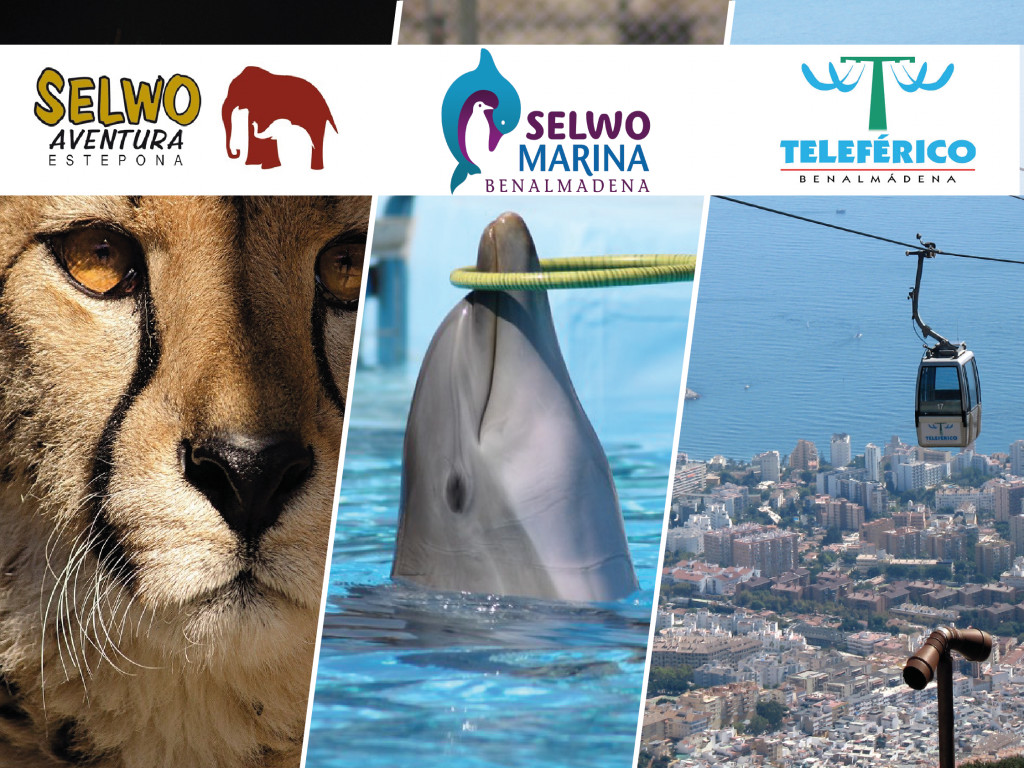 Entradas Selwo Aventura + Selwo Marina + Teleférico Benalmádena