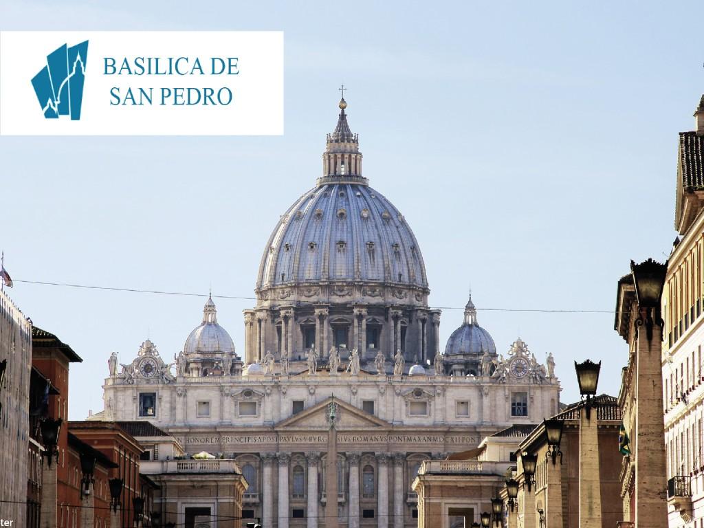 Visita autoguiada de la Basílica de San Pedro con App Oficial(Completo: 19,50 € - Reducido: 14,50 €)