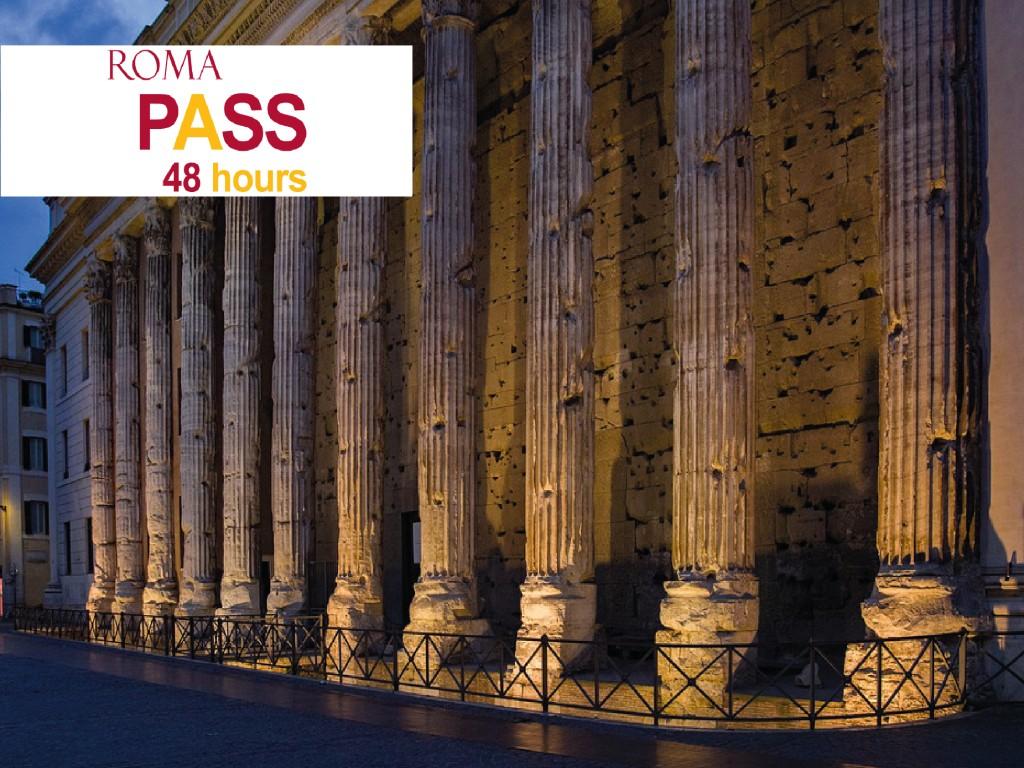 Roma Pass 48h 28€