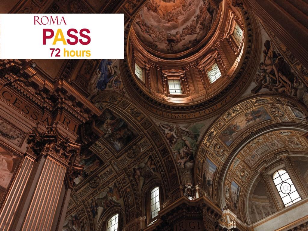 Roma Pass 72h 38,50€
