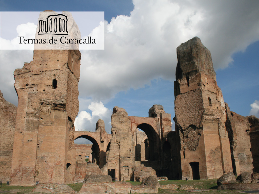 Baths of Caracalla + Audio Guide 15€