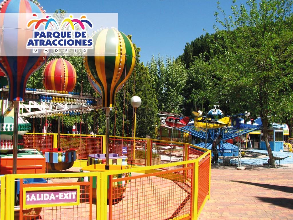 Entrada Fecha Abierta Parque Atracciones Madrid