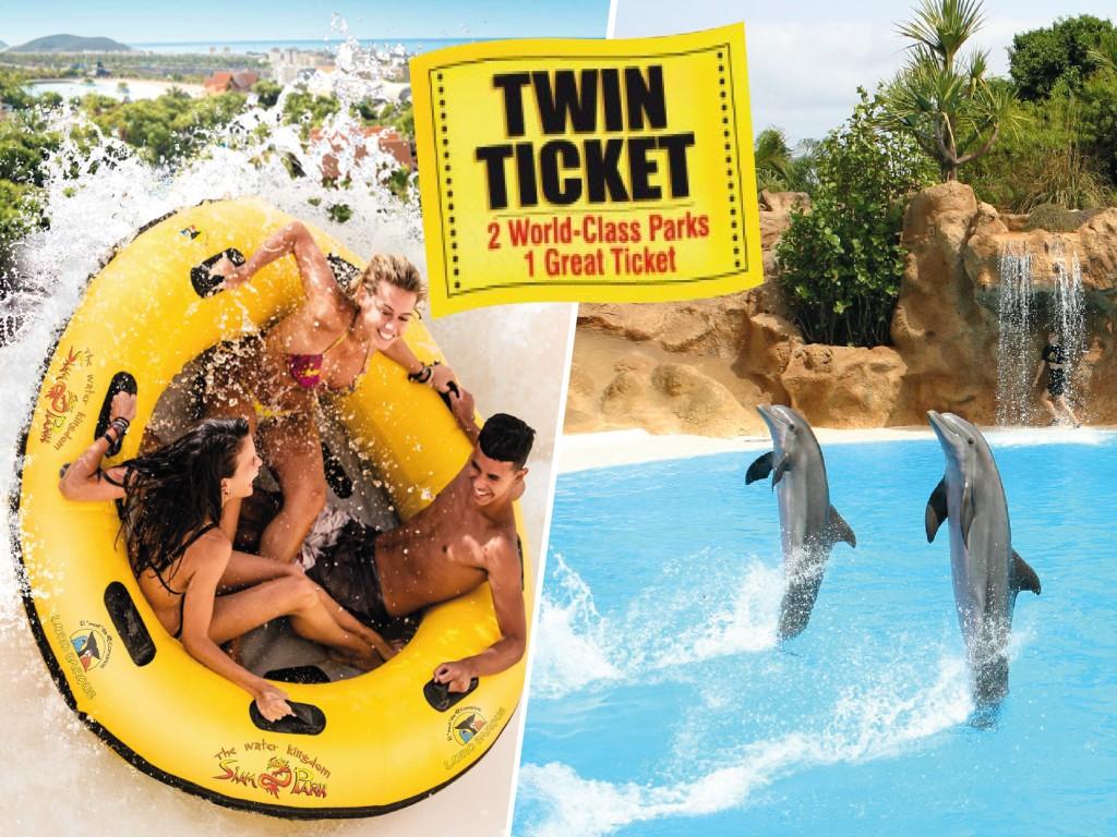 Ticket Combinado Siam Park + Loro Parque